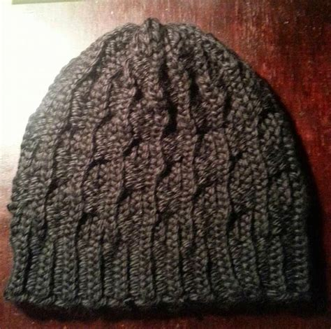 knitting loom hat patterns hubby s next hat maybe i ll use u wrap of course