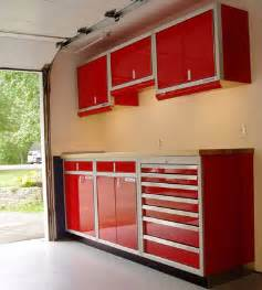 Should garage cabinets be wood metal plastic or other