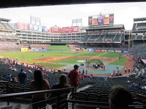 Rangers Sections by Globe Park Section 124 Rateyourseats