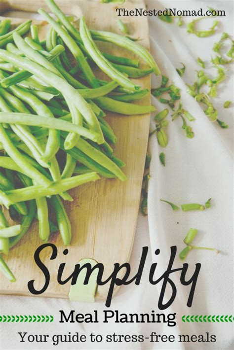 stress free dinner simplify meal planning your guide to stress free meals