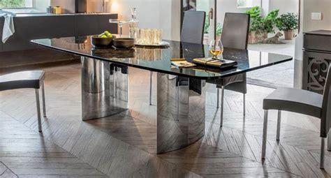 basi tavoli cristallo vendita tavoli in cristallo trasparente con base in metallo