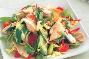thai salmon salad recipe taste com au