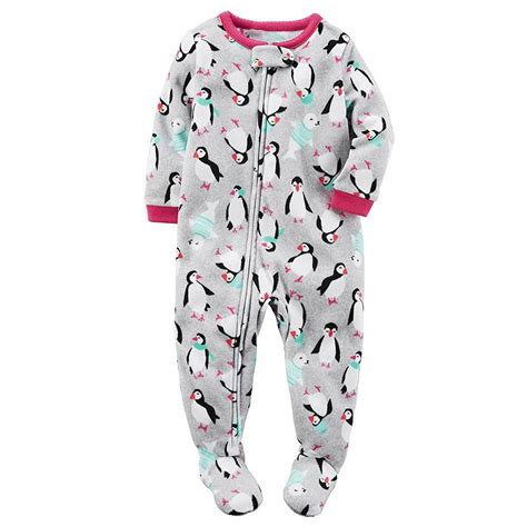 footed onesies baby s baby 1 footed fleece pajamas pj s ebay