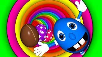 what color was originally associated with magic indoor playground in colorful tunnel mr eggie