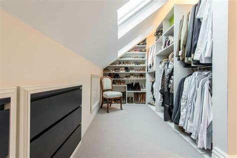 attic dressing room storage loft conversion dressing