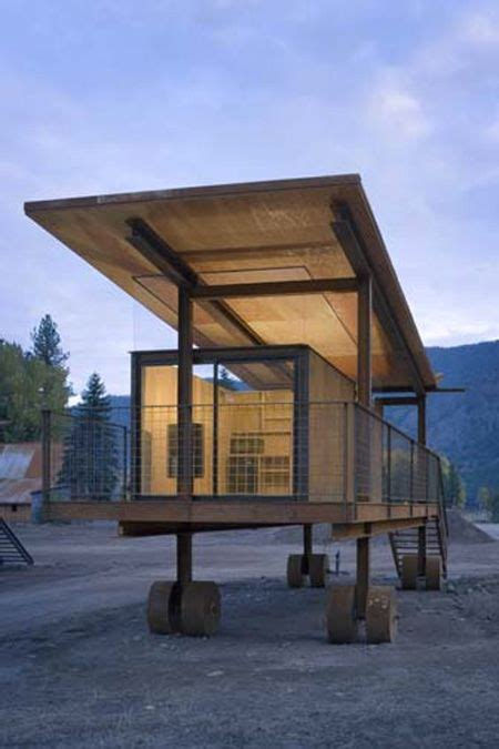 Rolling Cabins by Rolling Huts Are Minimally Appointed Mountain Cabins