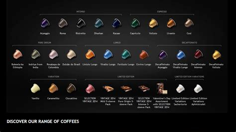 best nespresso coffee flavors what s your flavour x nespresso creatista iwoot