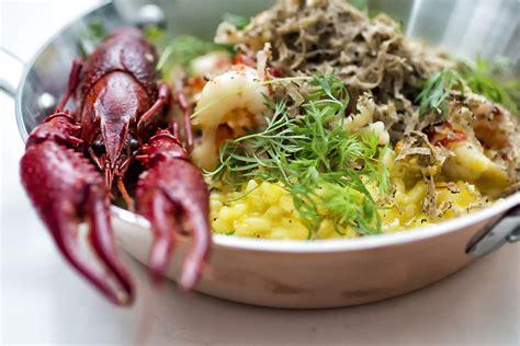 are you mad for mad men krystin krebs risotto med safran tr 248 ffel og krebs fjordrejen