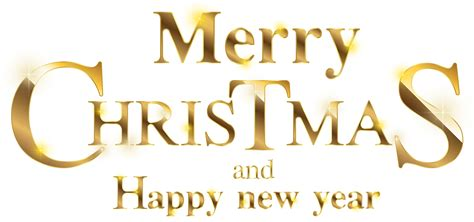 merry christmas gold transparent clip art image gallery yopriceville high quality images
