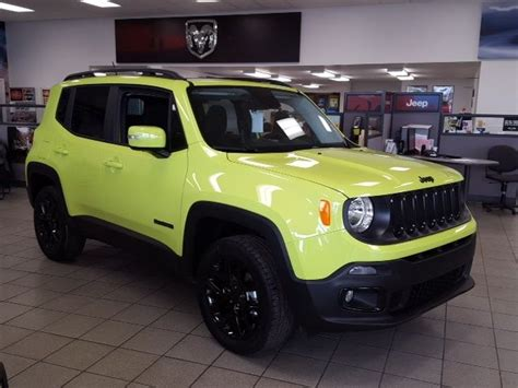 new jeep renegade green my future ride 2017 jeep renegade in hyper green it s