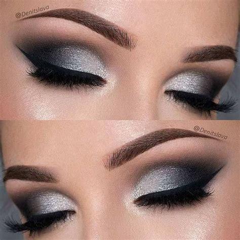 tutorial eyeshadow wardah seri d best 25 silver smokey eye ideas on pinterest silver