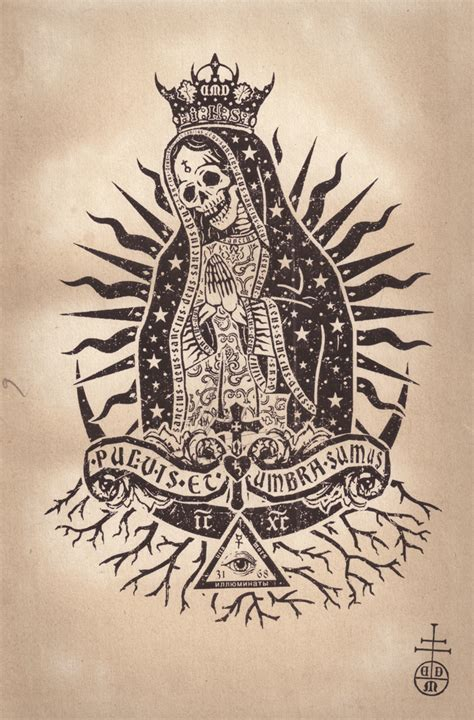 la nina de muchas caras the many faces of santa muerte