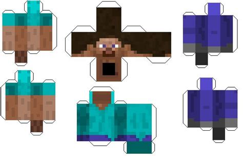 Minecraft Papercraft Figures - 17 best images about minecraft paper crafts on