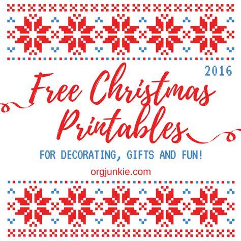 Fun Free Christmas Printables Roundup For 2016 | fun free christmas printables roundup for 2016