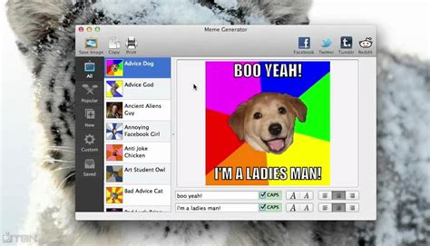 Meme Generator Mac - mac os x meme generator and rage comics youtube