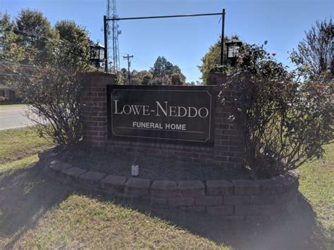 lowe neddo provides personalized funeral services at