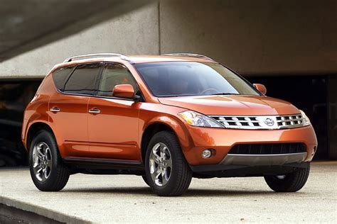 2003 nissan murano overview cars