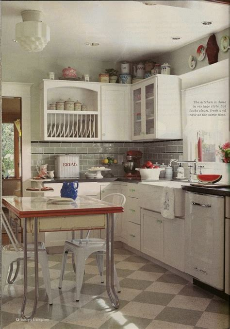 1920s kitchens 1920 s kitchen looks i love pinterest