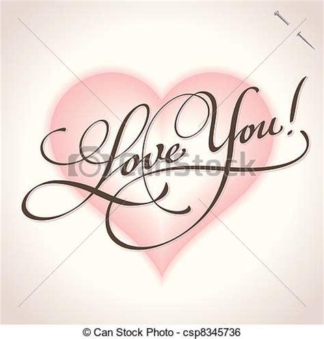 imagenes de i love you en cursiva clip art de vectores de you letras love vector