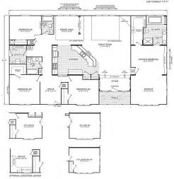 triple wide floor plans triple wide mobile home floor plans manufactured