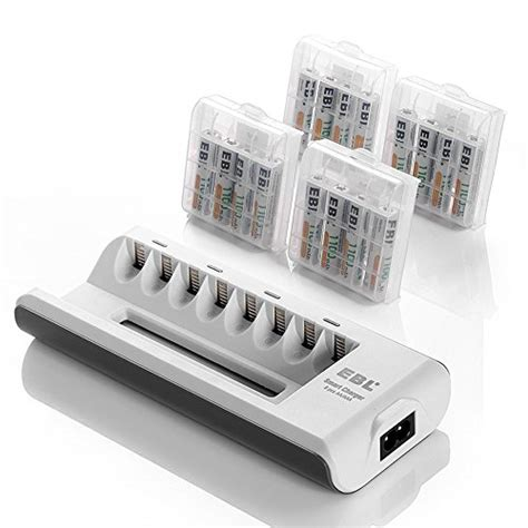 aaa rechargeable batteries and charger ebl aa aaa battery charger and aaa rechargeable batteries