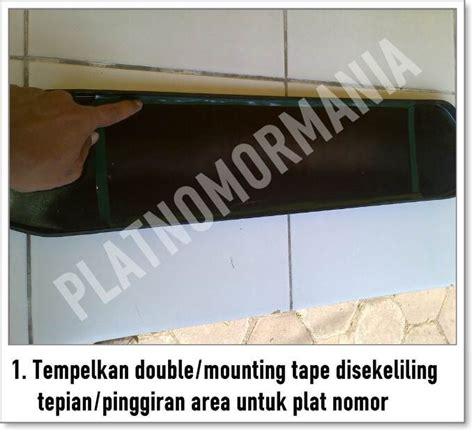 Cover Plat Nomor Acrylic panduan pemasangan cover plat nomor acrylic cembung