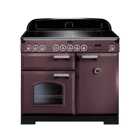 kitchen master induction cooker rangemaster classic deluxe 100 induction range cooker taupe with chrome trim
