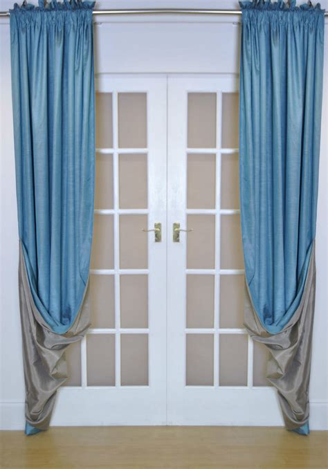 reversible luxury faux silk curtains reversible luxury faux silk curtains slot top heading