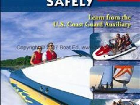 coast guard boating classes coast guard auxiliary offers boating safety classes