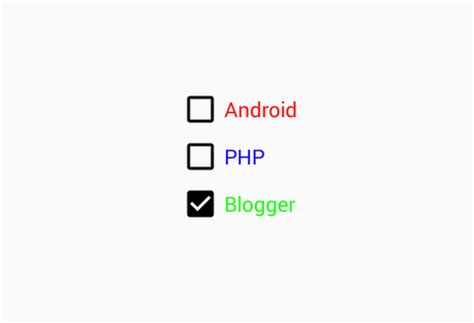 android text color how to change checkbox text color in android using xml