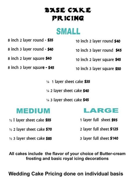 how much should a wedding cake cost uk cake prices guide cake price list screenshot recipes