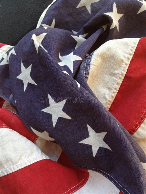 draped flag old fabric american flag royalty free stock photo image