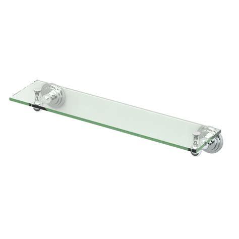 gatco marina 20 13 in w glass shelf in chrome 5235 the