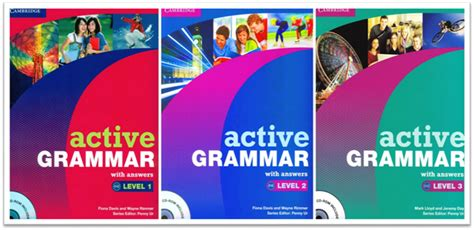 Grammar For Use A Realistic Approach To Grammar Study For Immediate pdf iso cambridge active grammar 3 levels with answers