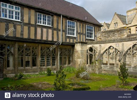 buy house gloucester little cloister house kings school gloucester cathedral stock photo royalty free