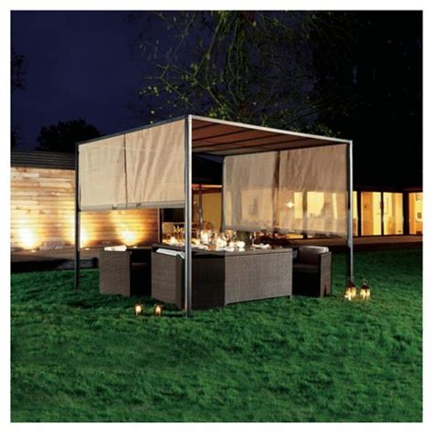 gazebo tesco buy steel sliding gazebo from our gazebos marquees range