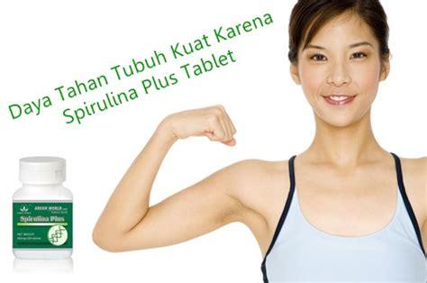 Vitamin Untuk Daya Tahan Tubuh Asli Spirulina Gold 60kps suplemen daya tahan tubuh spirulina plus tablet