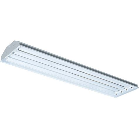 Ceiling Mounted Fluorescent Light Fixtures Rab Rb4t5 4 Light Ceiling Surface Chain Mount Fluorescent High Bay Fixture 54 Watt 17340