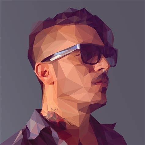 tutorial vector face photoshop low poly geometric photoshop and illustrator tutorials