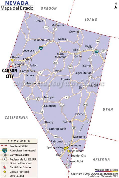 us map oregon state el mapa del estado de nevada estados unidos de america