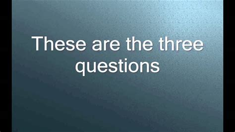 Hardest Or Question The Three Hardest Questions In The World