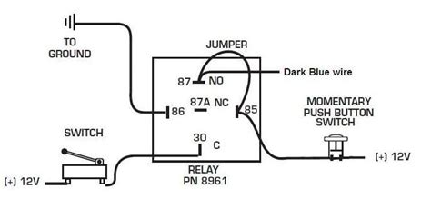 7531 Dark Blue Latch Relay Msd Blog