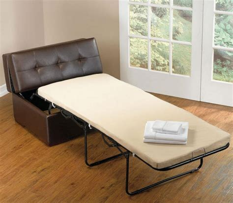 ottomans that convert to beds faux leather ottoman that converts into bed whereibuyit