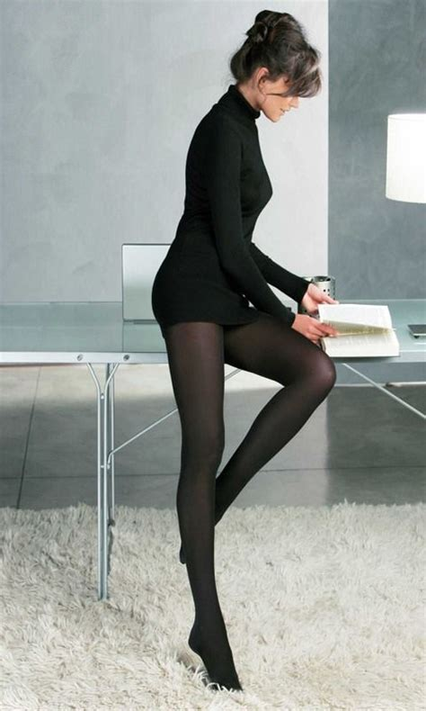 patterned tights office patterned tights with black dress and sexy heels beauty