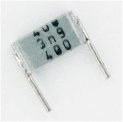 epcos metallized polyester capacitor 0 0039uf 400v metallized polyester box capacitor b32560j6392j epcos west florida components