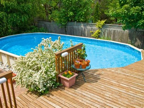 wood pool deck 40 uniquely awesome above ground pools with decks