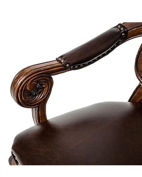 Aico Tuscano Bar Stool by Aico Dining Arm Chair Tuscano Ai 34004 34 Set Of 2
