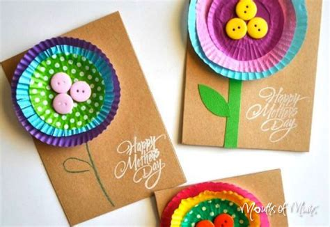 mothers day cards toddlers can make 10 s day cards can make with the mouths