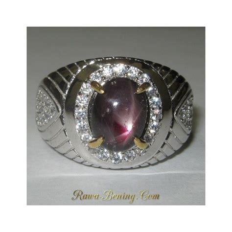 Cincin Cincin Berlian Imitasi Silver 3 Batu 1 5 Karat Lapis Emas P jual cincin ruby silver 925 ukuran 9us untuk pria
