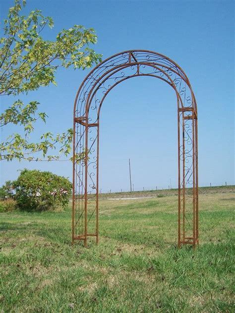Metal Arch Trellis Metal Garden Arch Trellis Photograph Wrought Iron To